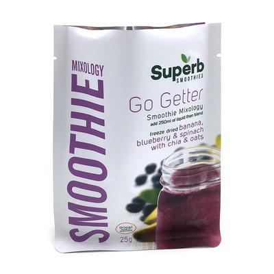 Flat bottom bag plastic food packaging wholesale - Smoothie purple